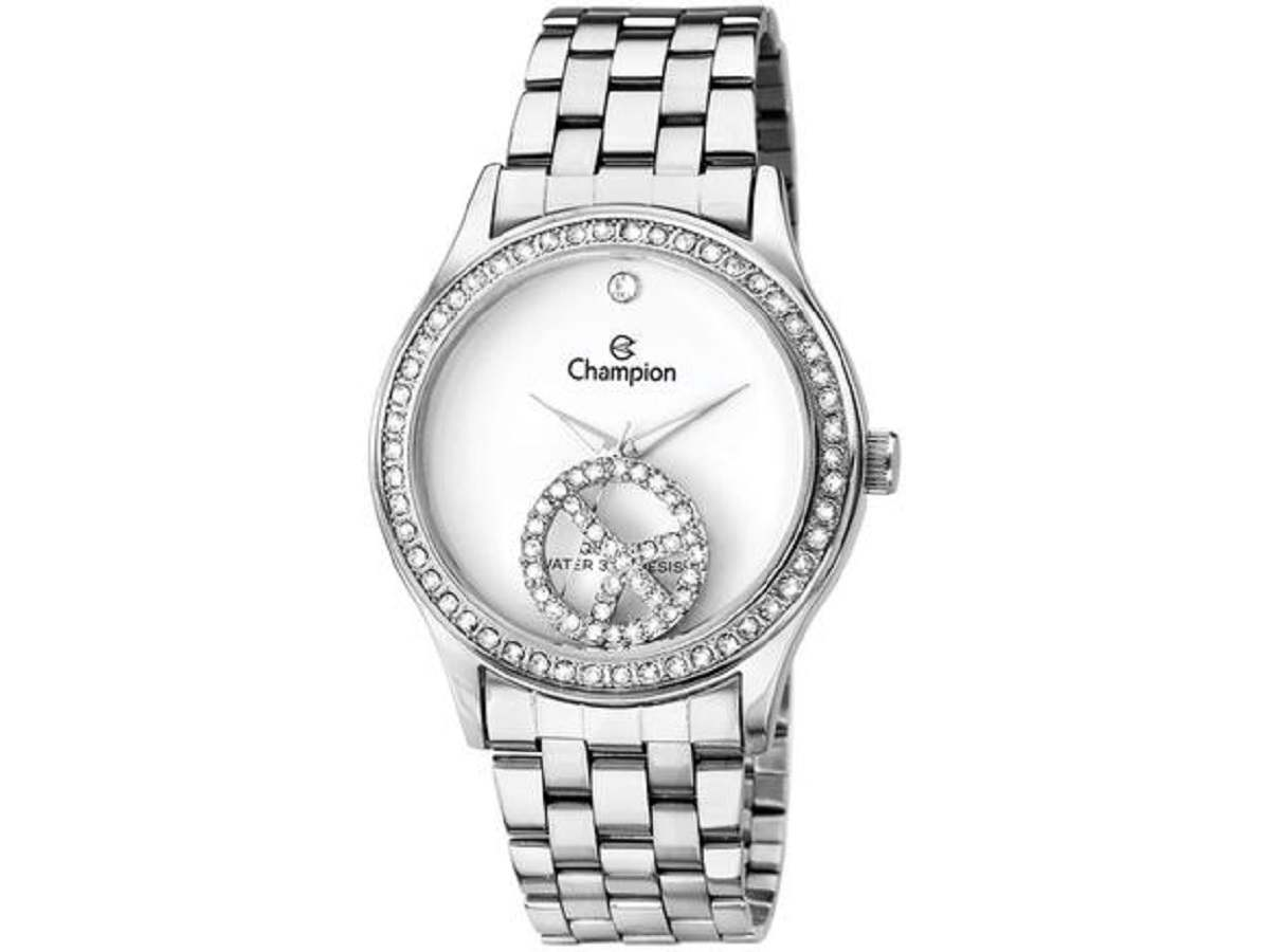 Relógio Champion Feminino Prateado  CH25785Q