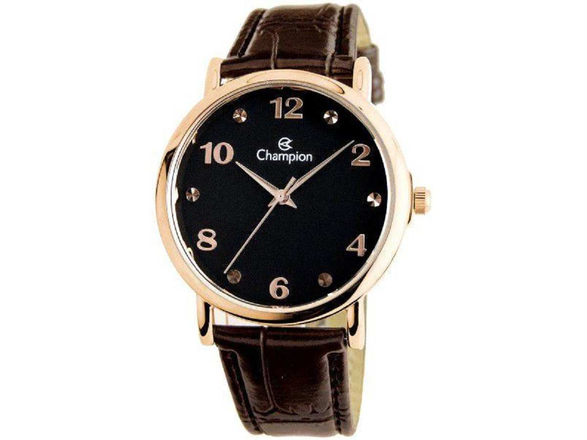 Relógio Champion Feminino Marrom CN24253P