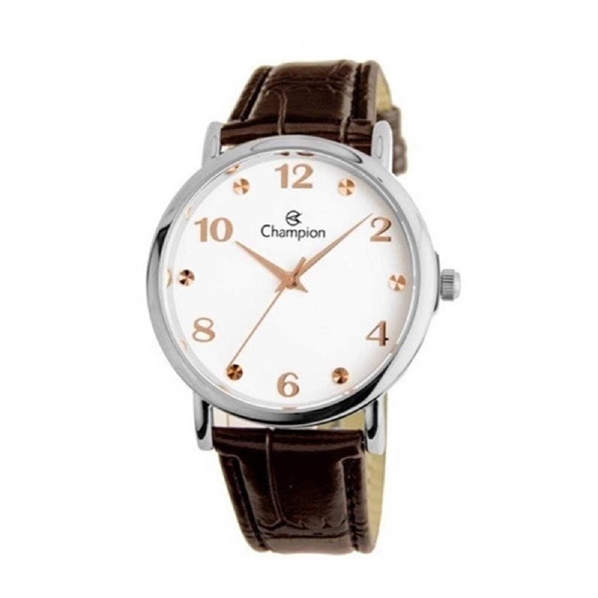 Relógio Champion Feminino Marrom CN24253Q