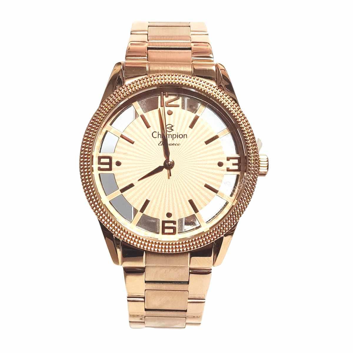Relógio Champion Feminino Rose CN20882X