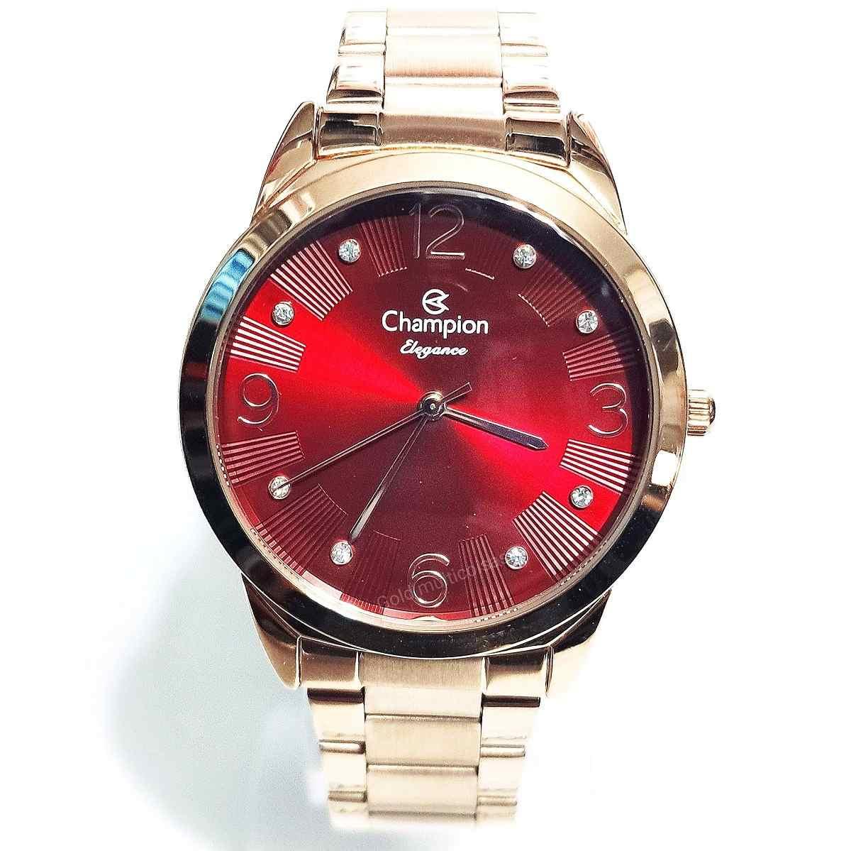 Relógio Champion Feminino Rose CN24075I
