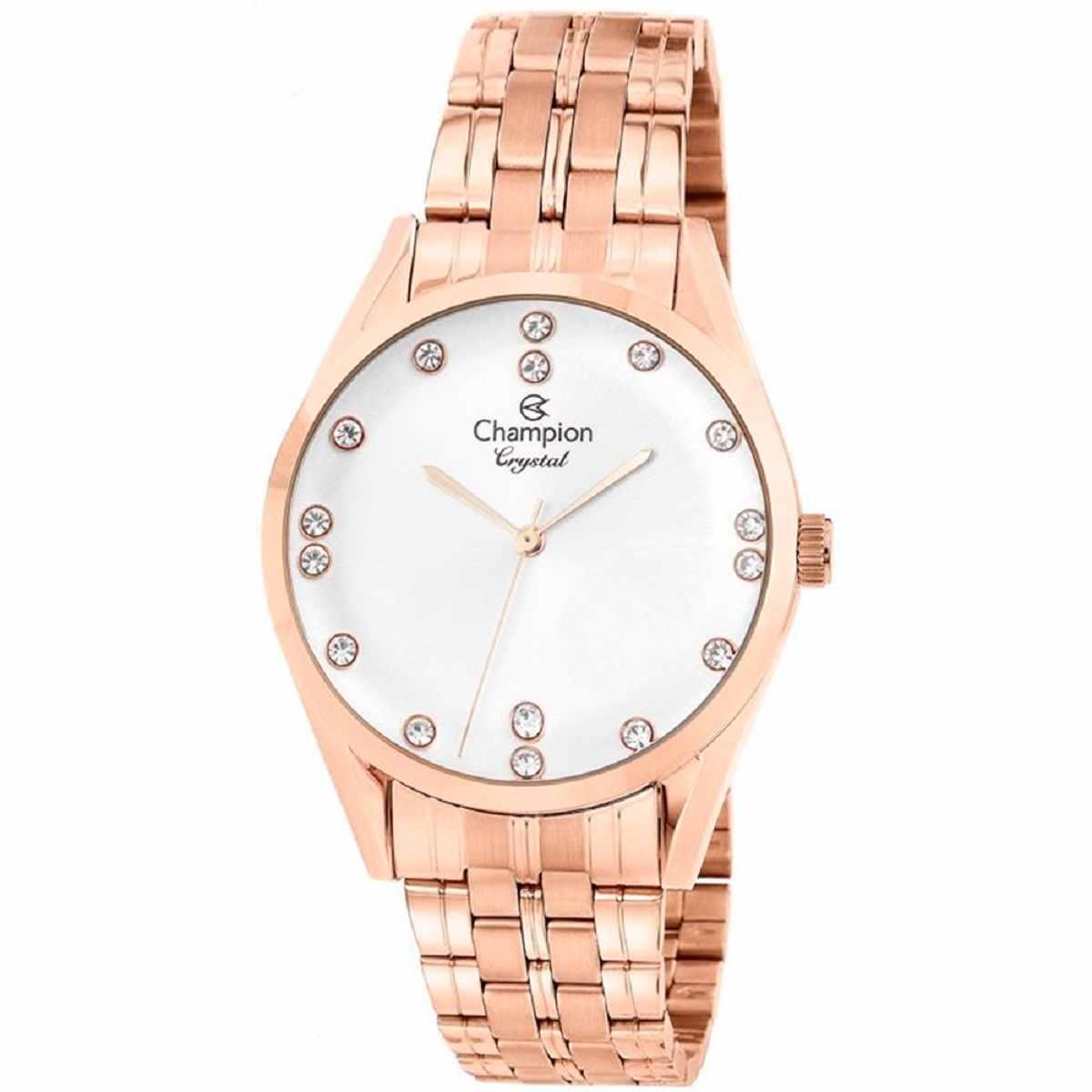 Relógio Champion Feminino Rose CN25547Z