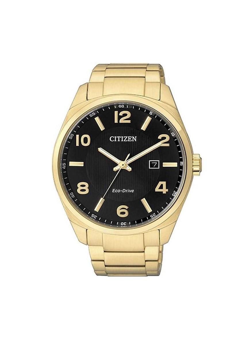 Relógio Citizen Eco Drive Masculino Dourado TZ20555U