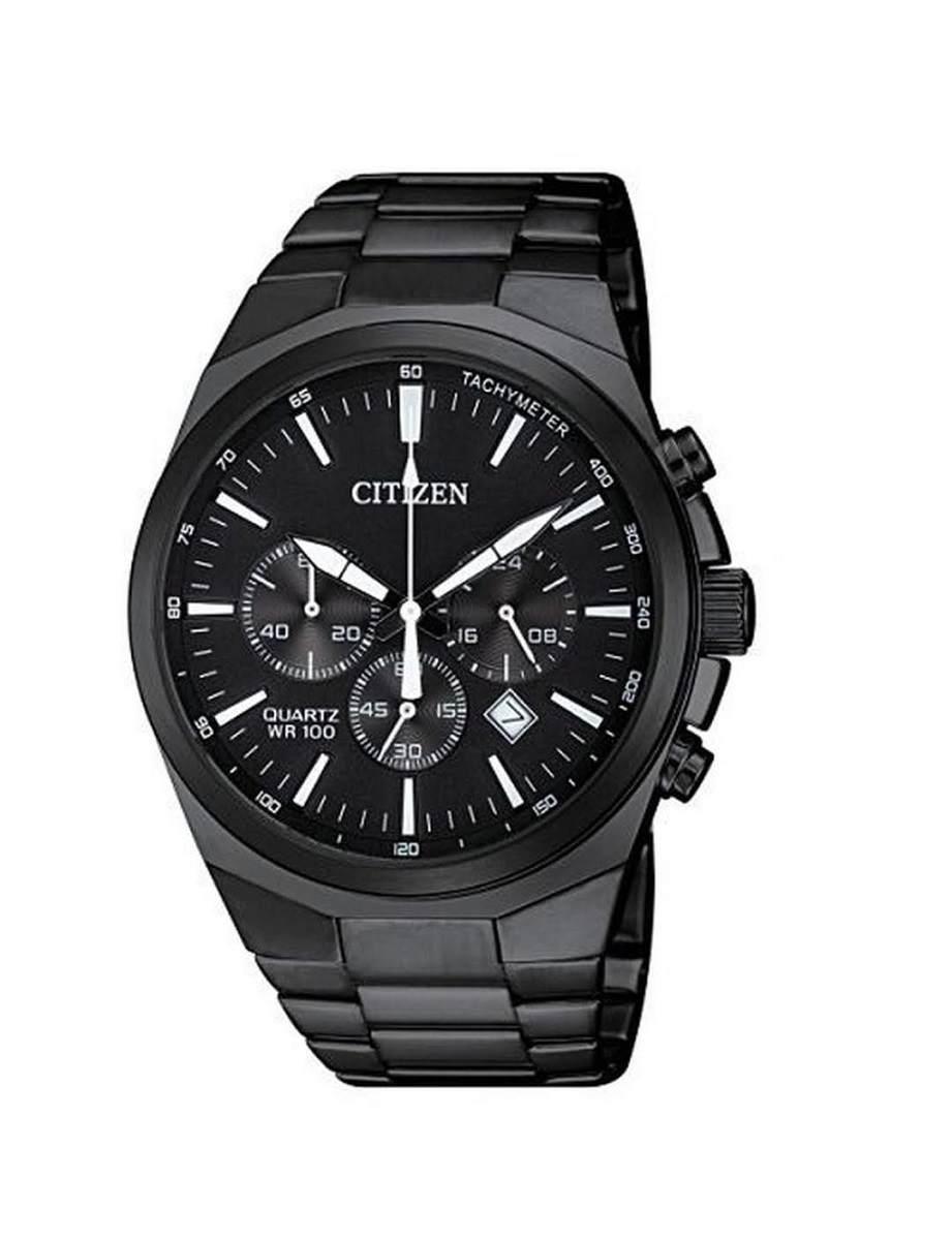 Relógio Citizen Masculino Cronógrafo Preto TZ31105P
