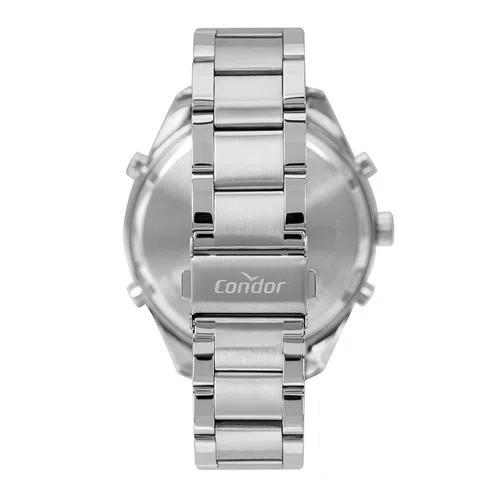 Relógio Condor Masculino Digital E Analógico Prateado COBJ3689AC/3A