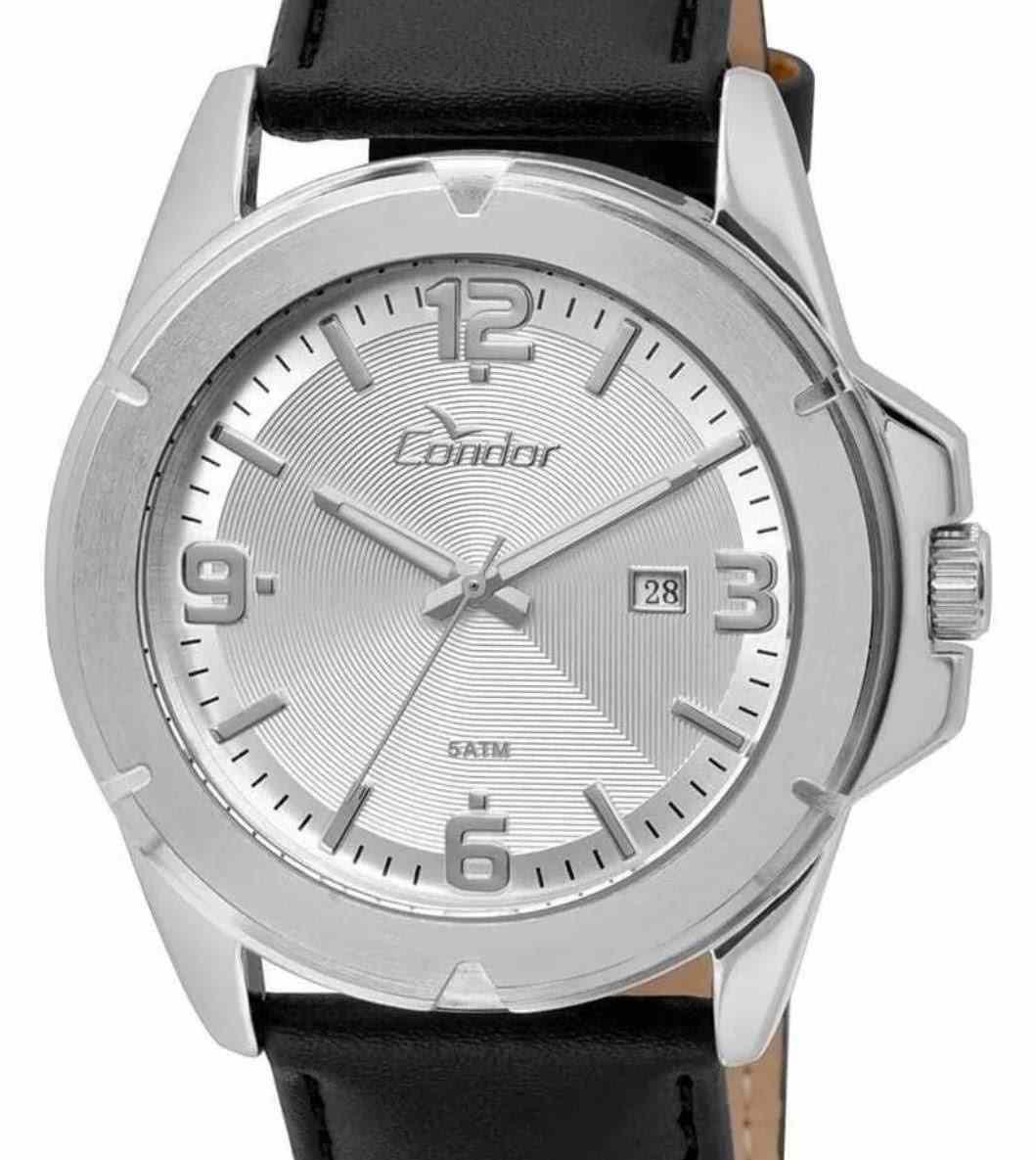 Relógio Condor Masculino Pulseia Preta Calendário CO2115XG/k3k