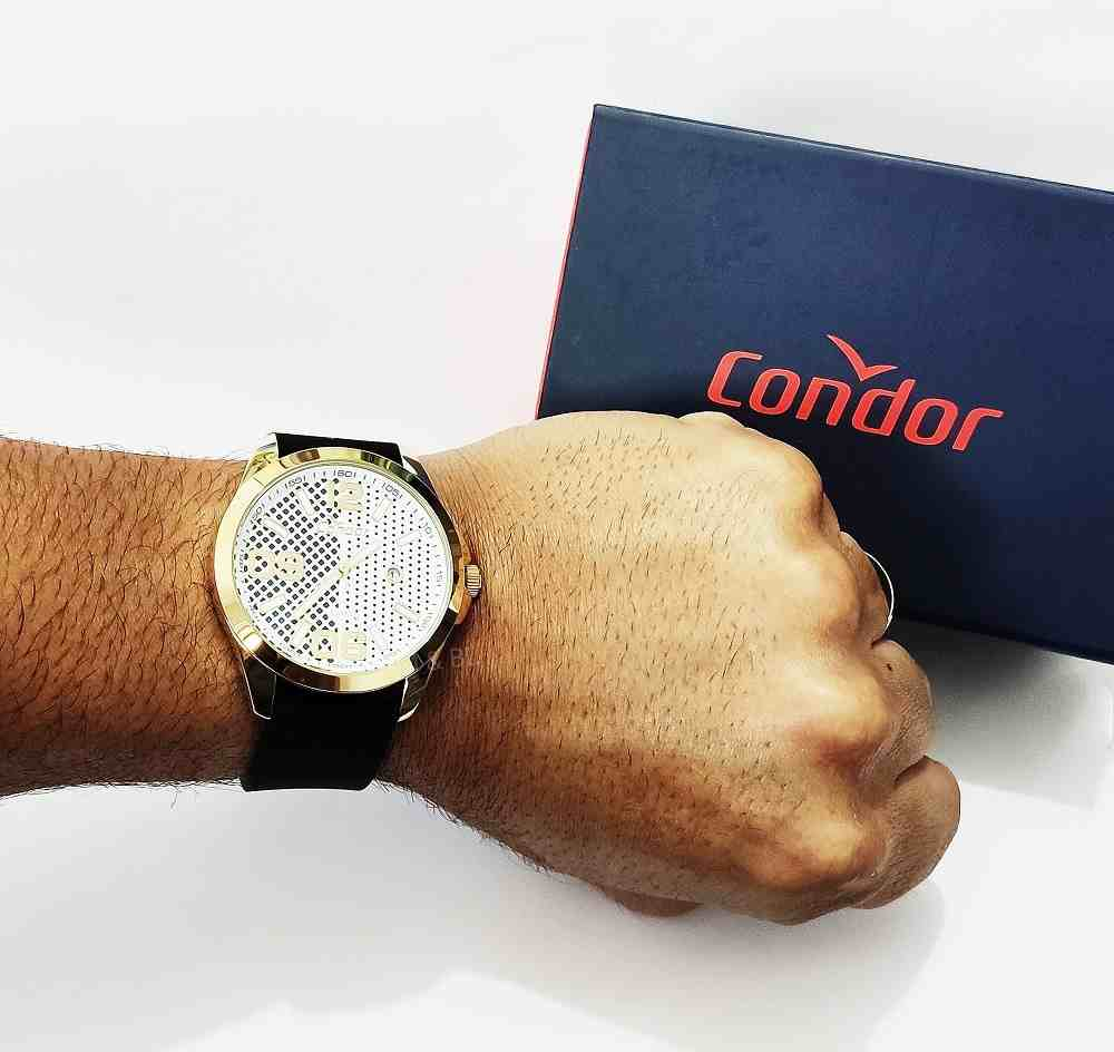 Relógio Condor Masculino Pulseia Silicone Calendário CO2115KSZ/K8K