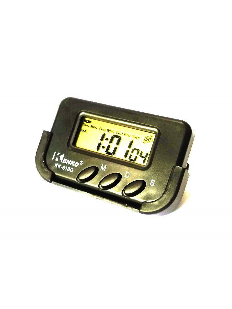 Relógio Digital Automotivo Painel Carro Caminhão Taxi Van Kenko