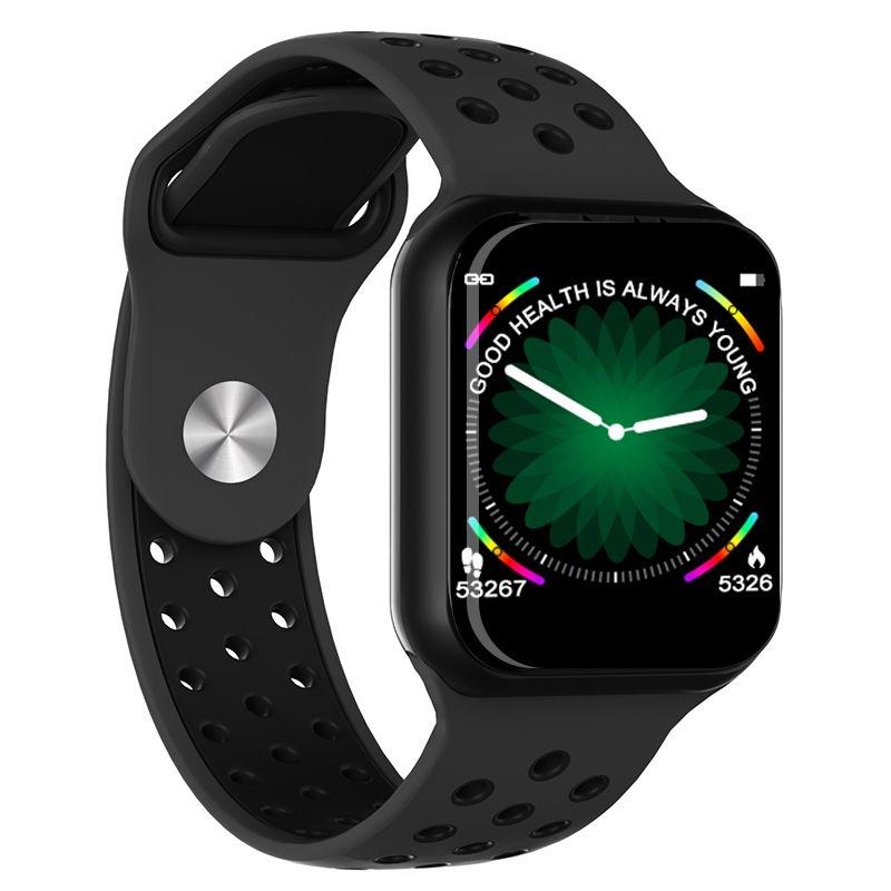 Relógio Inteligente F8 Monitor Cardíaco Sono Passos Android iOs Fitness Pressão Arterial
