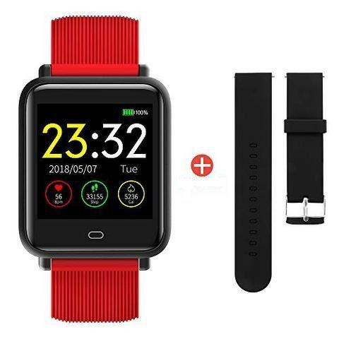 Relógio Inteligente Q9 Monitor Sono Passo Coração Pedômetro Pressão Sanguínea  Unissex