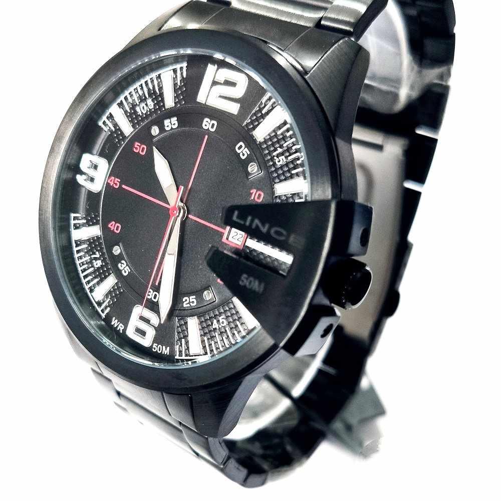 Relógio Lince Masculino Analógico Preto MRN4268L P2PX