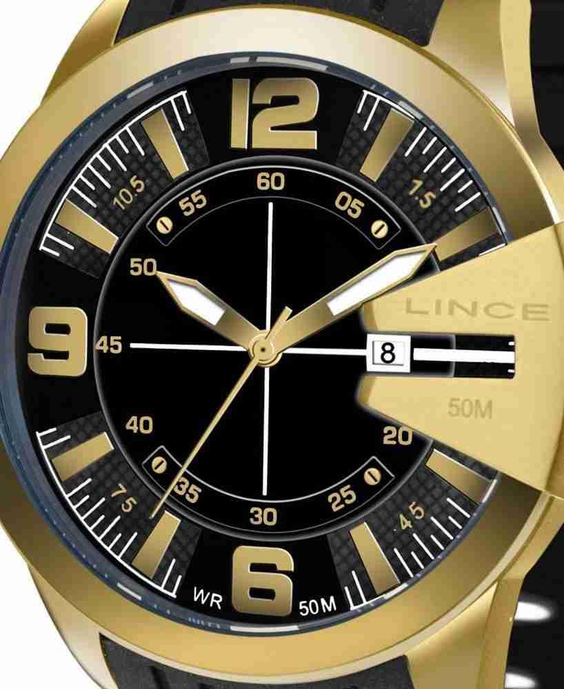 Relógio Lince Masculino Analógico Pulseira Silicone MRP4404L P2PX