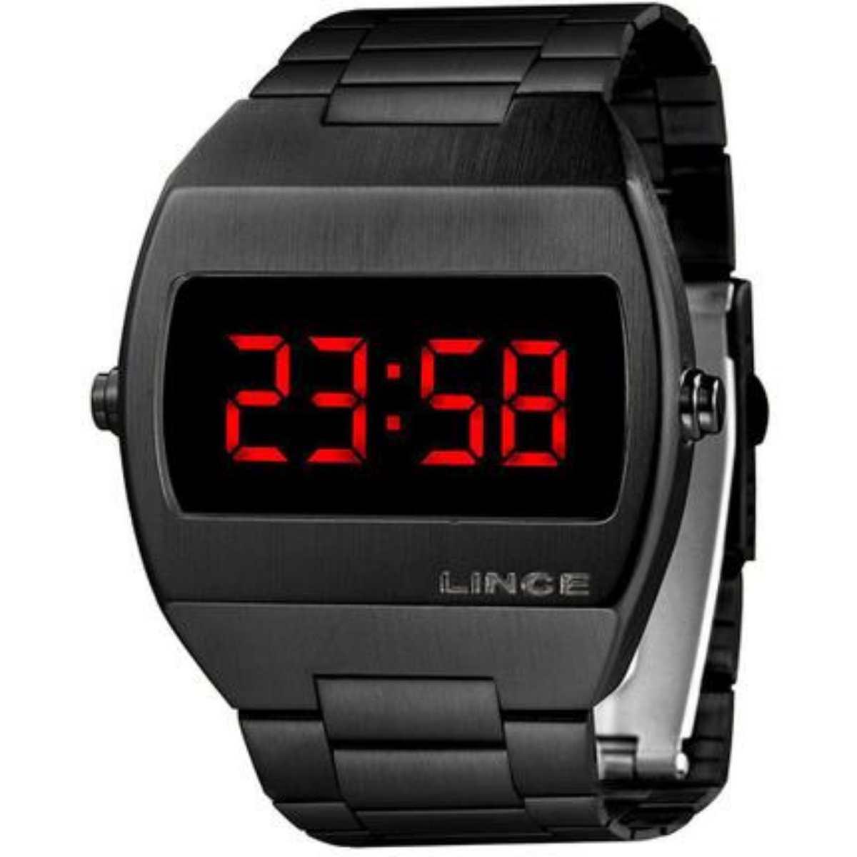 Relógio Lince Masculino Preto MDN4620L VXPX