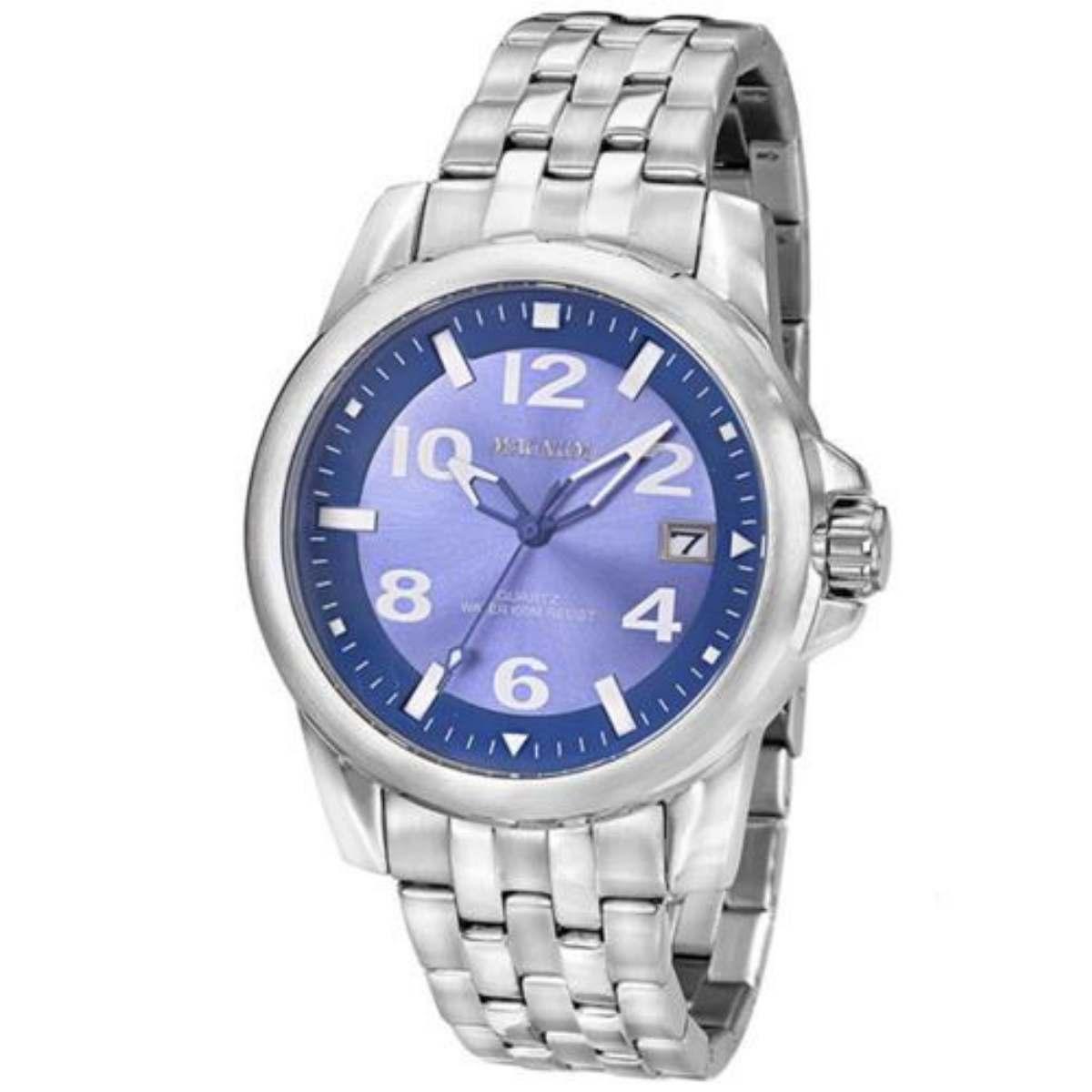 Relógio Magnum Masculino Prateado MA33022F