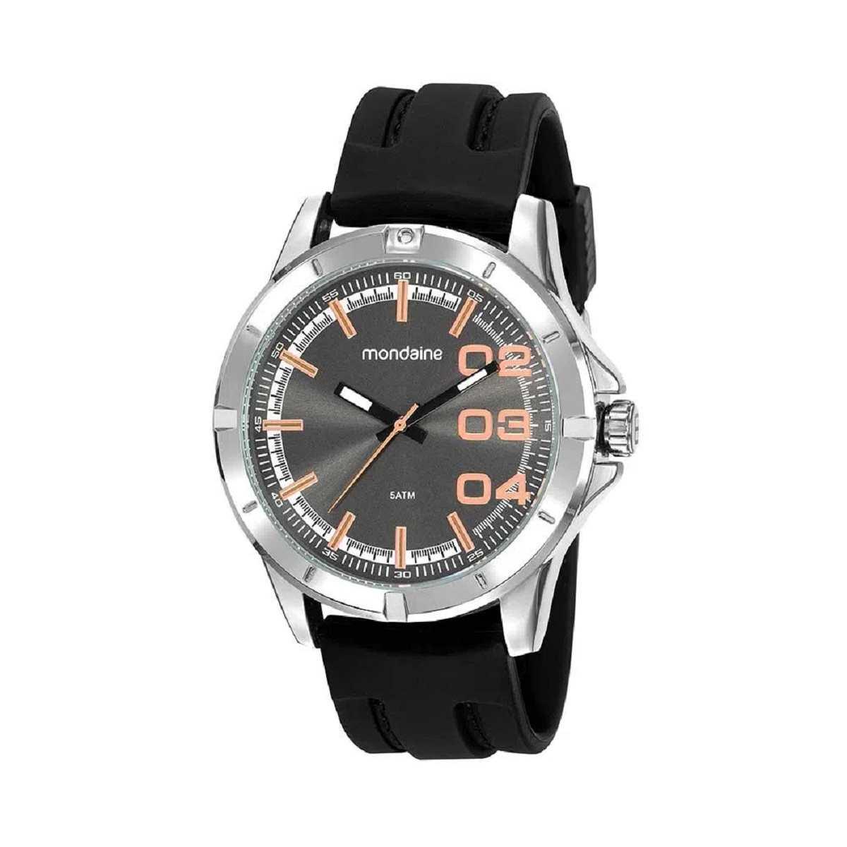 Relógio Masculino Mondaine Prateado 99430GOMVNI2