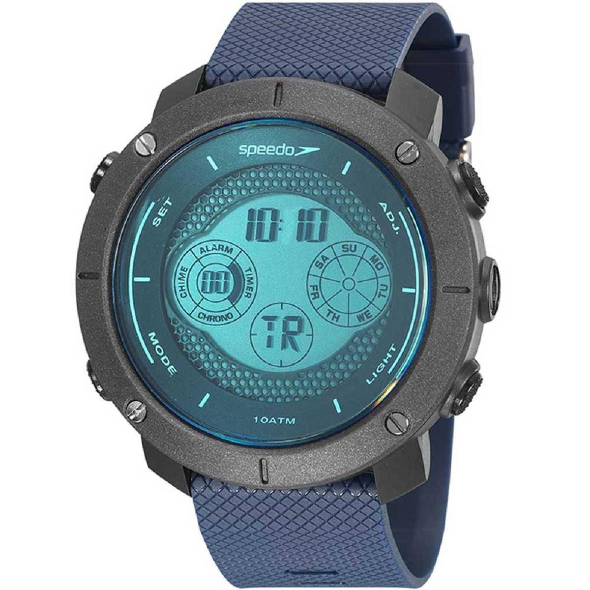 Relógio Masculino Speedo Digital Esportivo Azul 11027G0EVNP4