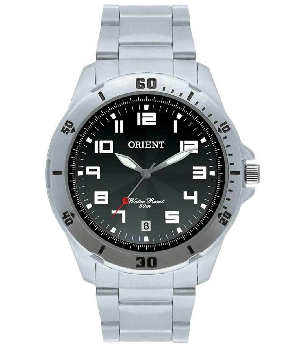 Relógio Orient Masculino Analógico Prateado MBSS1155A P2SX