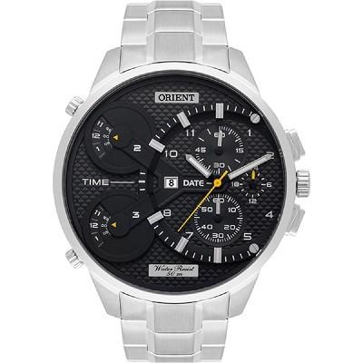 Relógio Orient Masculino Cronógrafo Prateado MBSST003 P2SX