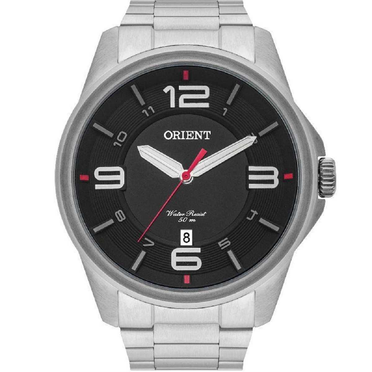 Relógio Orient Masculino Prateado MBSS1288 P2SX
