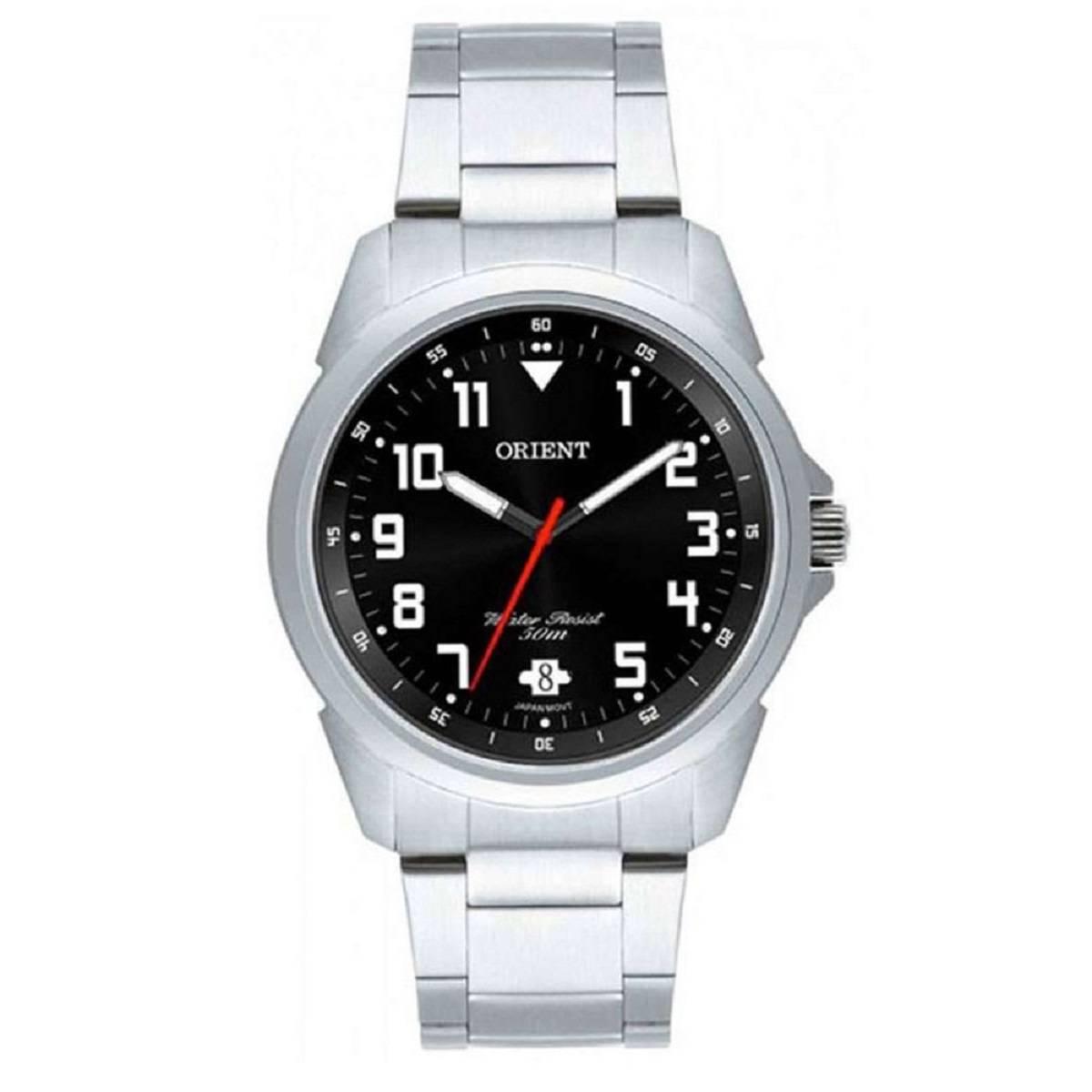 Relógio Orient Masculino Prateado MBSS1154A P2SX