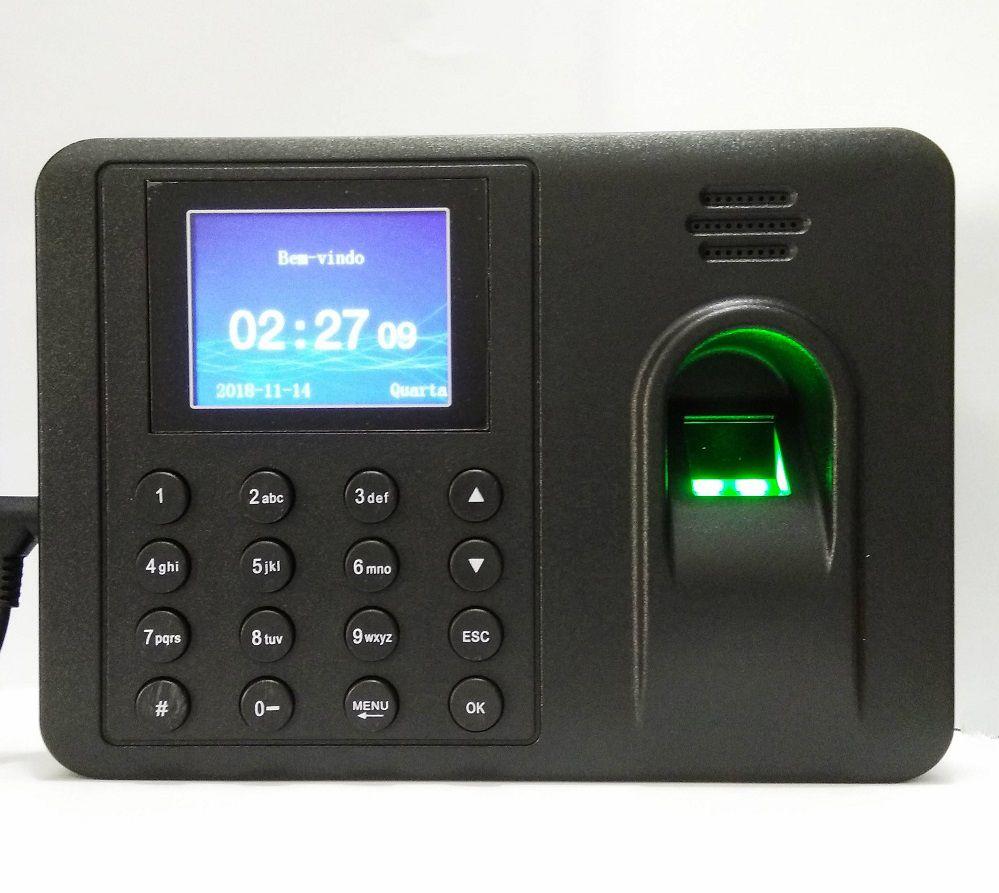 Relógio Ponto Biométrico Impressão Digital Para Empresas Lojas