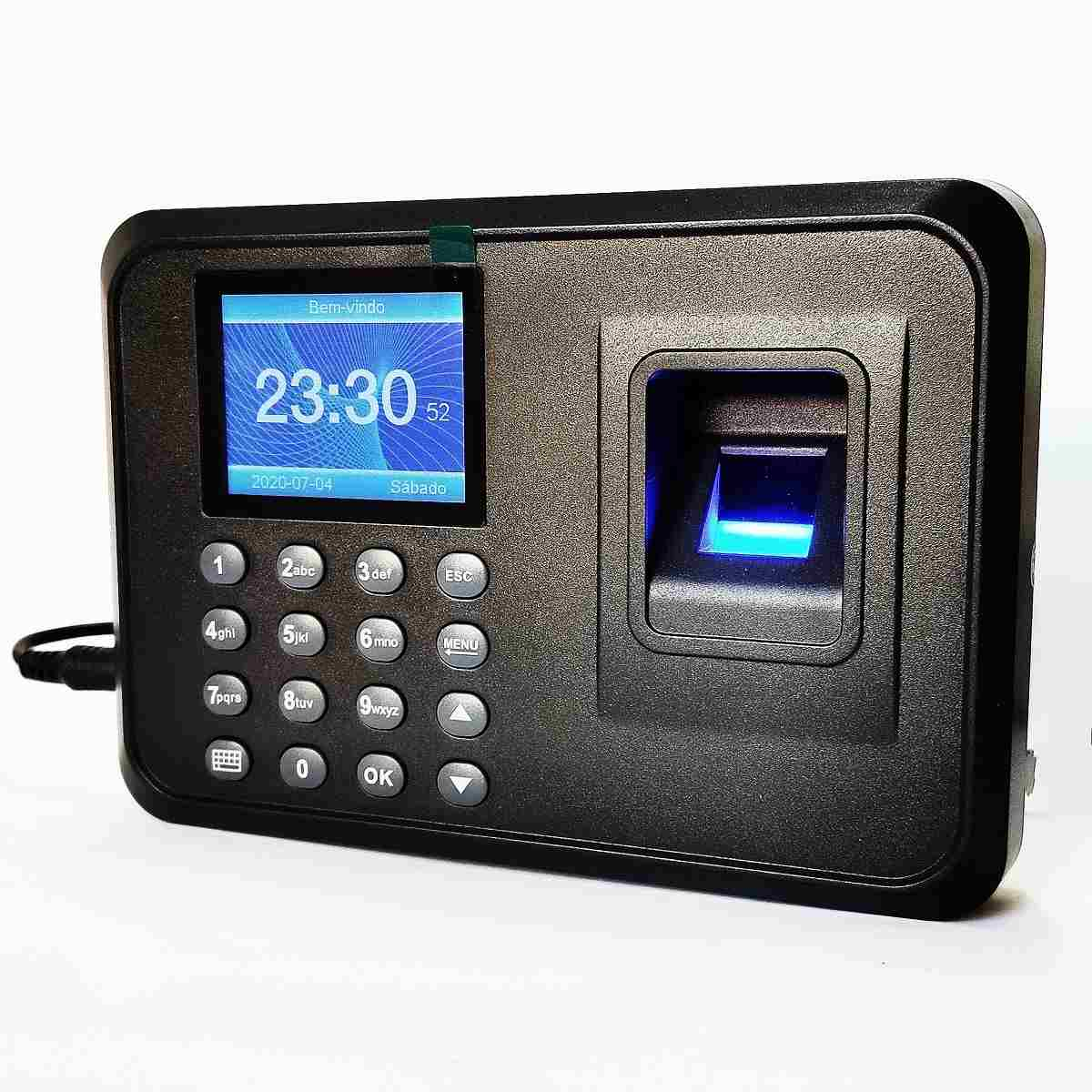 Relógio Ponto Biométrico Impressão Digital Para Empresas Lojas RH-H6