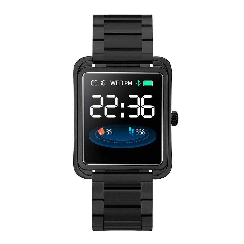 Relógio Smartwatch Inteligente Monitor De Atividades E Saúde Pulseira  De Metal V60