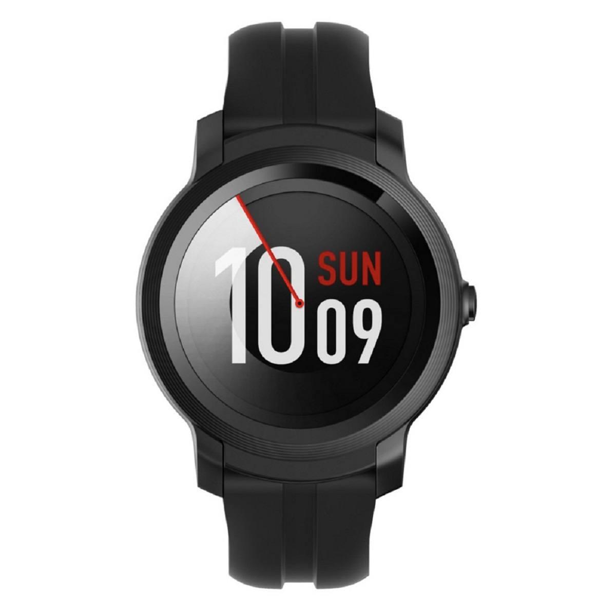 Relógio Smartwatch Mobvoi Ticwatch E2 Pxpx Com GPS integrado Preto