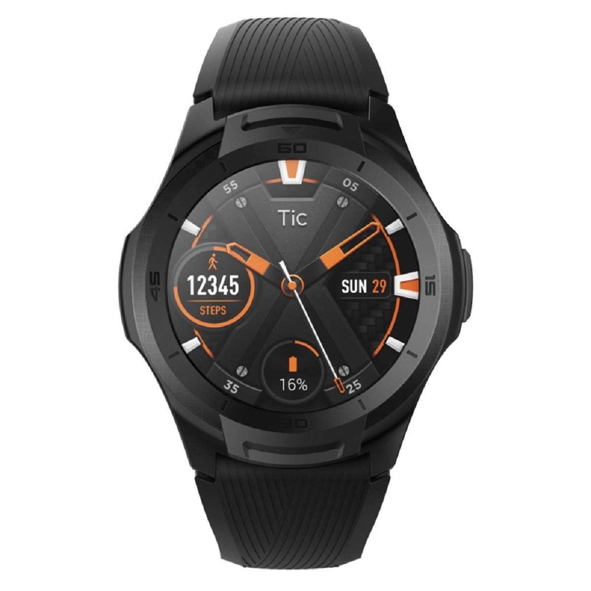 Relógio Smartwatch Mobvoi Ticwatch S2 Pxpx Com GPS integrado Preto