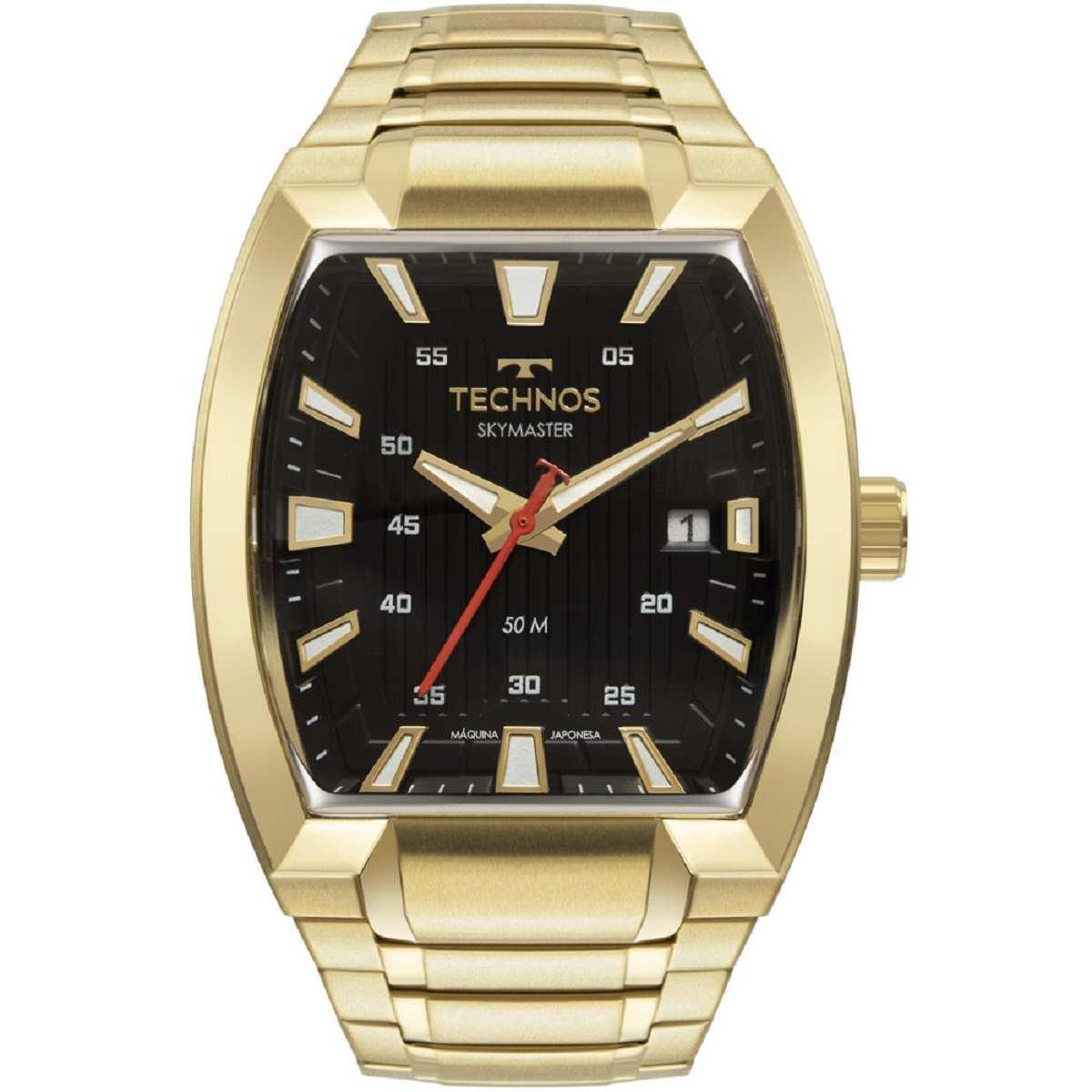 Relógio Technos Perfomance Masculino Dourado 2117LCO/1P