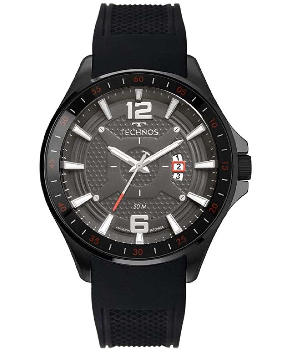 Relógio Technos Performance Racer Masculino Pulseira De Silicone 2117LBX/8C