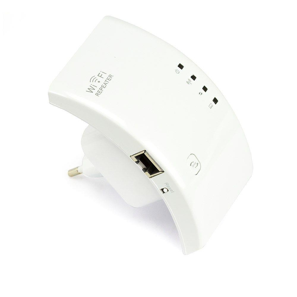 Repetidor e Amplificador  de Sinal Wireless 300 MBPS WR01 Wifi