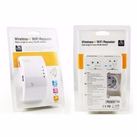 Repetidor e Amplificador  de Sinal Wireless 300 MBPS WR01 Wifi