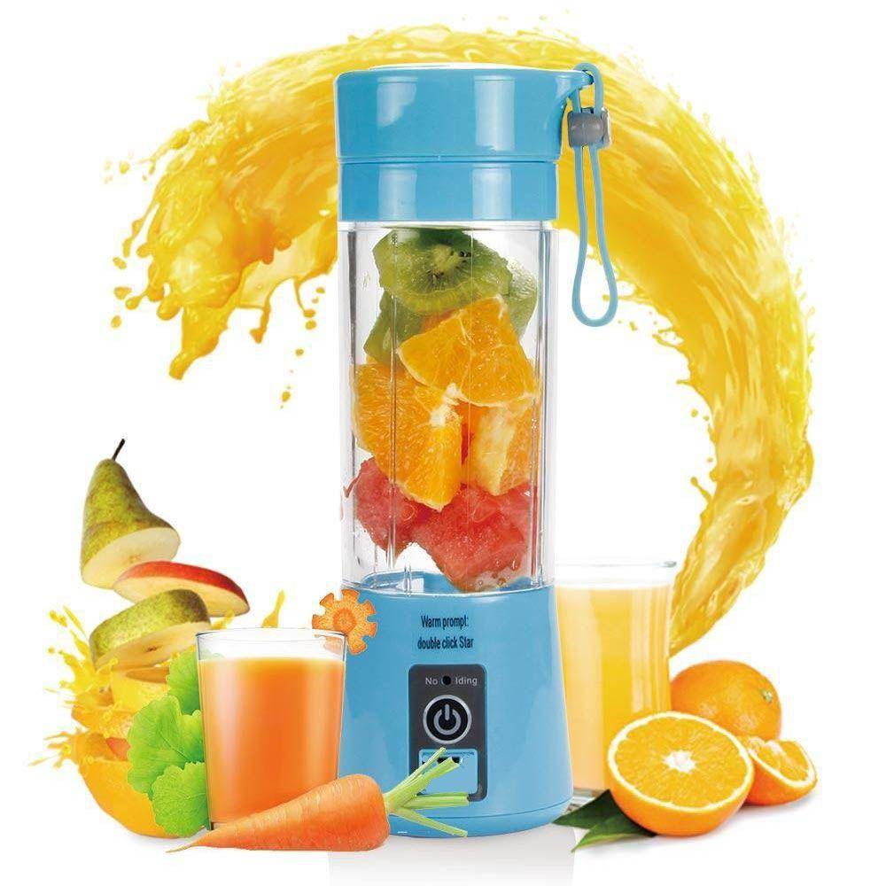 Shake Elétrico Recarregável  Portátil Sucos Mini Liquidificador Juice Cup