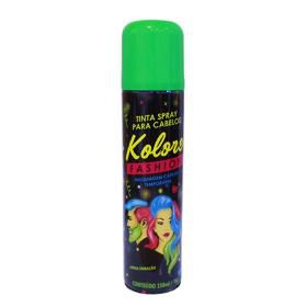Spray Tinta Pó De Cabelo Barba Colorido Kolore Fashion 150 Ml Longa Duração