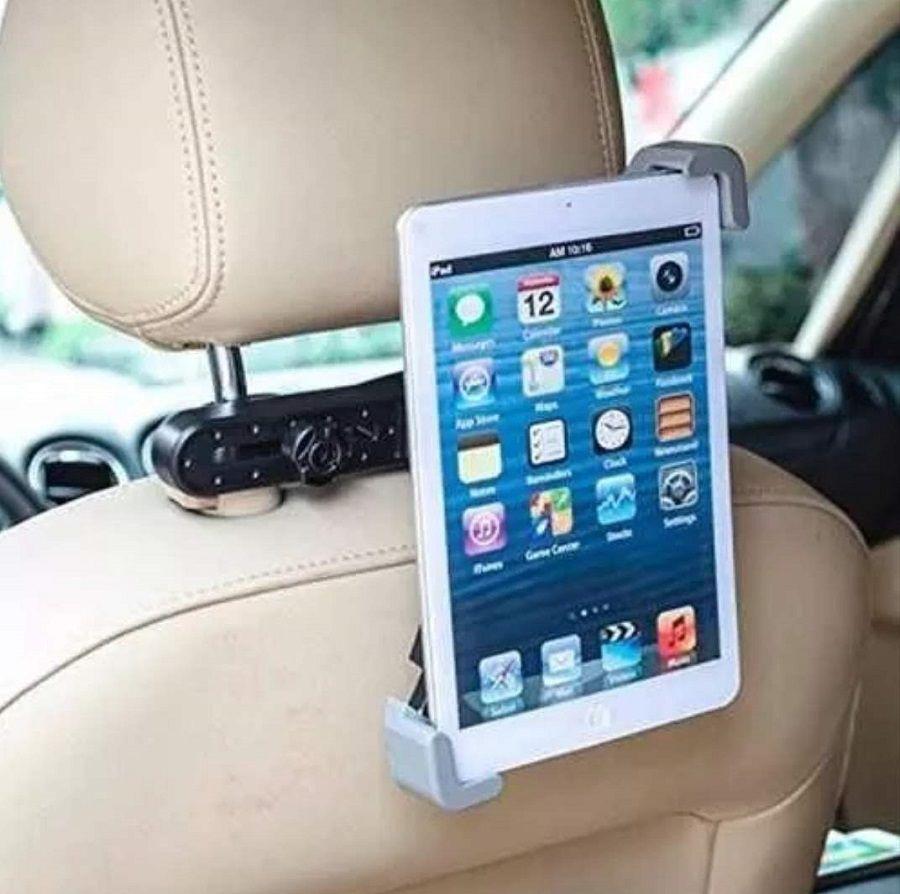 Suporte Adaptador Para Ipad Tablet Encosto De Banco Ajustável H'maston Jhd-192
