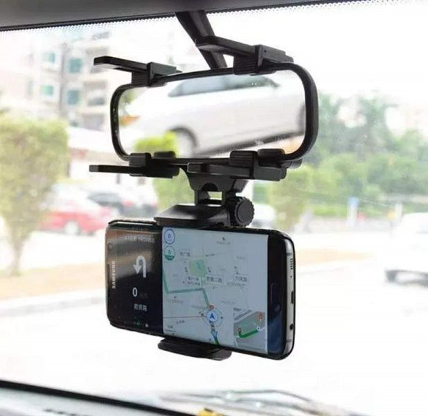 Suporte Para Celular Veicular Espelho Retrovisor De Carro Mtg-003
