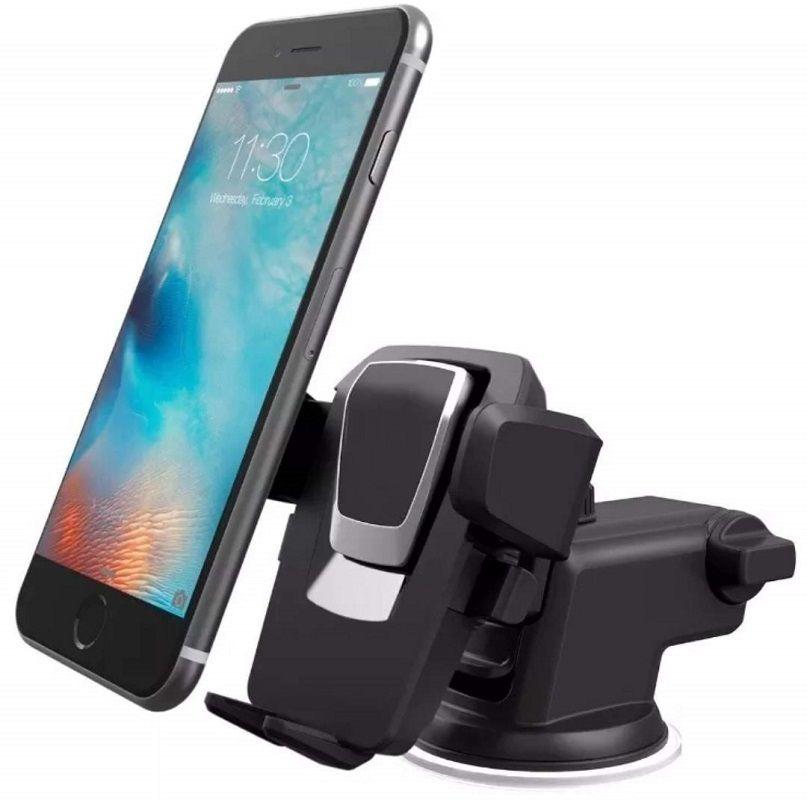 Suporte Celular GPS Carro Veicular  Trava  Automática MTG-011 - SP-72