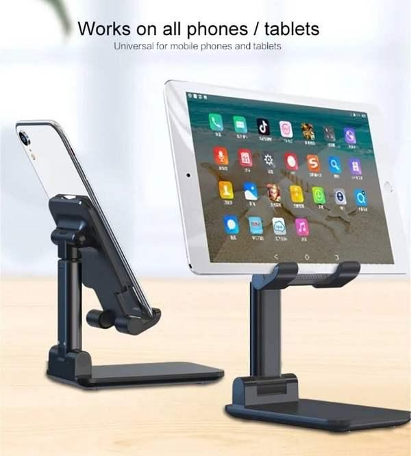 Suporte de Mesa Para Celular Smartphone Dobrável