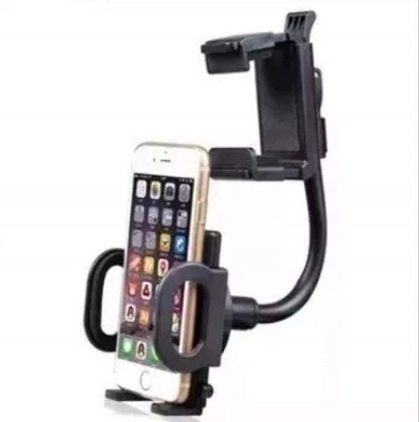 Suporte Veicular Encaixe No Retrovisor Celular Smartphone Universal LE-10