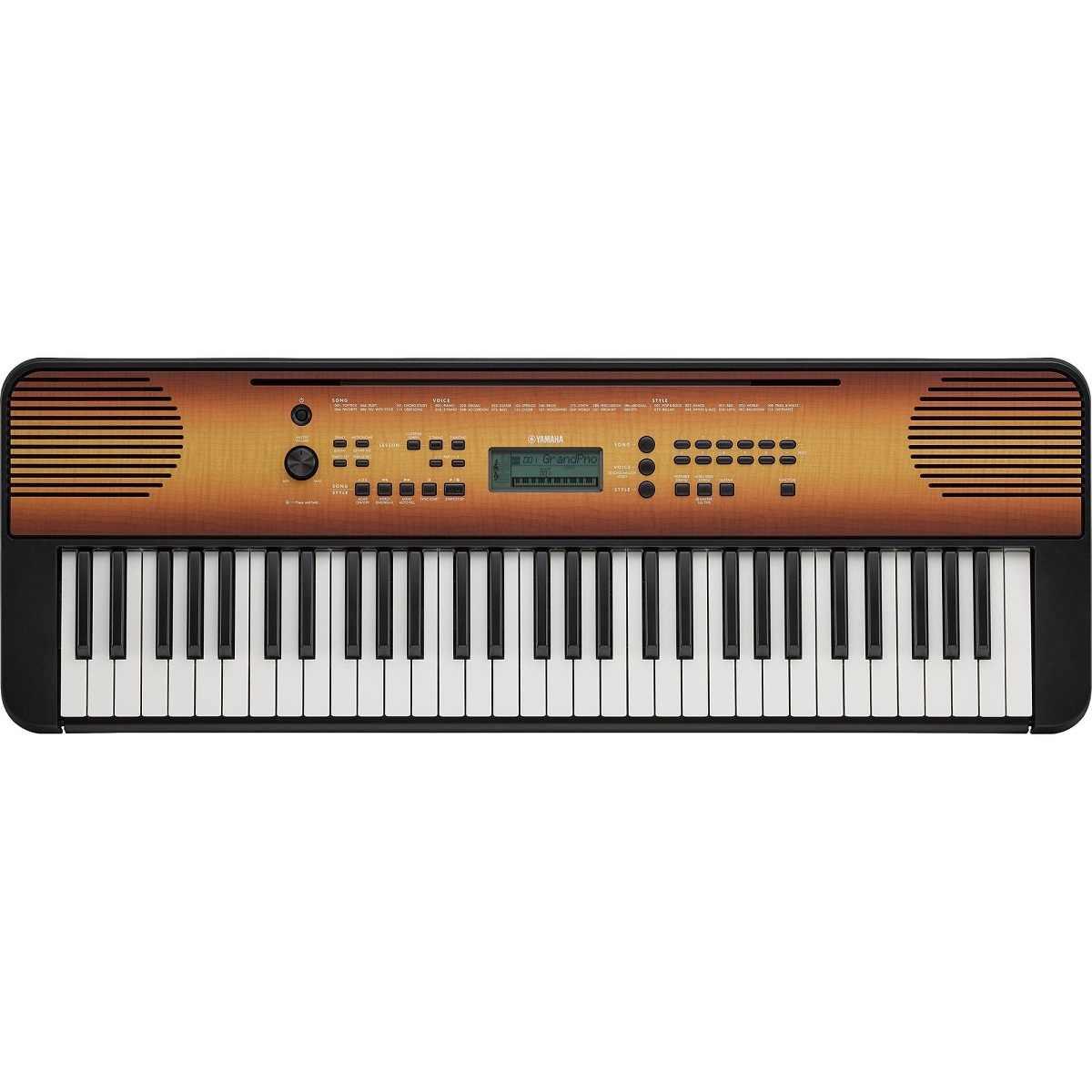 Teclado Arranjador Musical PSR-E360 Maple Yamaha