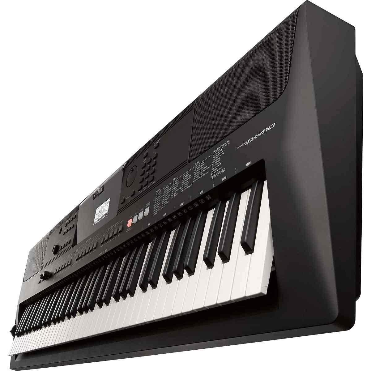 Teclado Musical Yamaha PSR-EW410 Preto