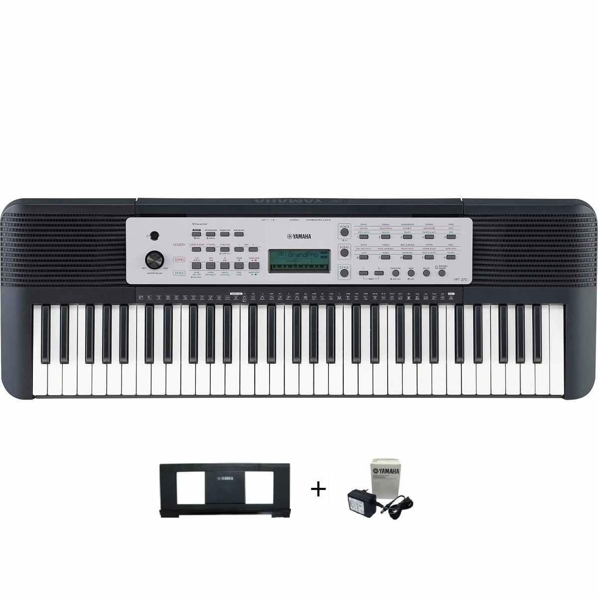 Teclado Musical Yamaha YPT-270 Preto