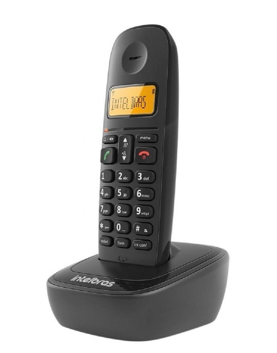 Telefone Sem Fio Id Chamadas Ts 2510 Intelbras Preto Bivolt