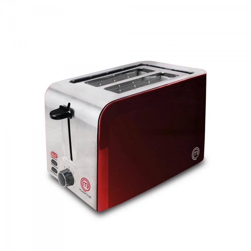 Torradeira MasterChef Com 7 Opções de Tostagem 220V - Vermelha TO2002V/02