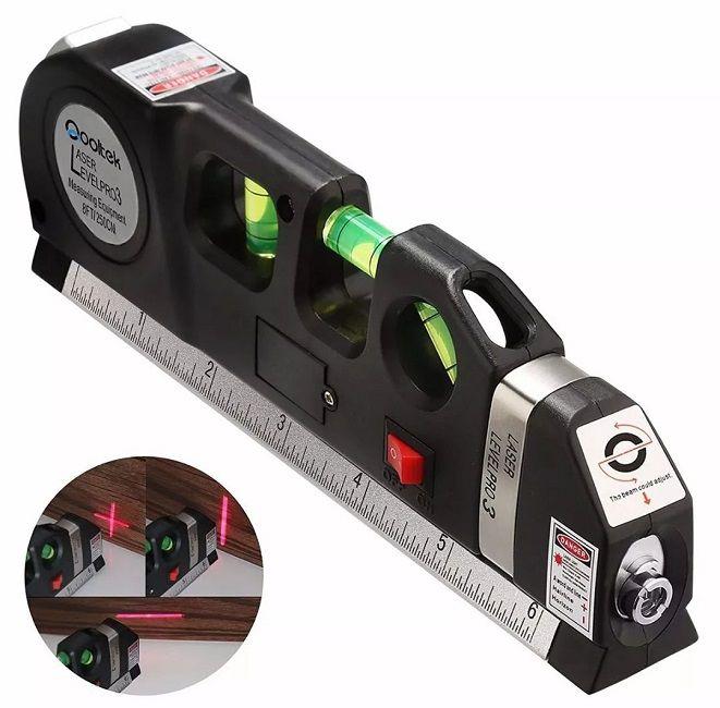 Trena Profissional Nível Laser Level PRO3 Luatek LV-03