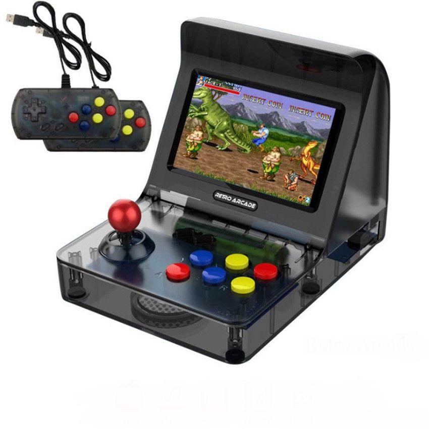 Video Game Retro Arcade Mini Fliperama Tela 4.3 Milhares De Jogos Na Memória