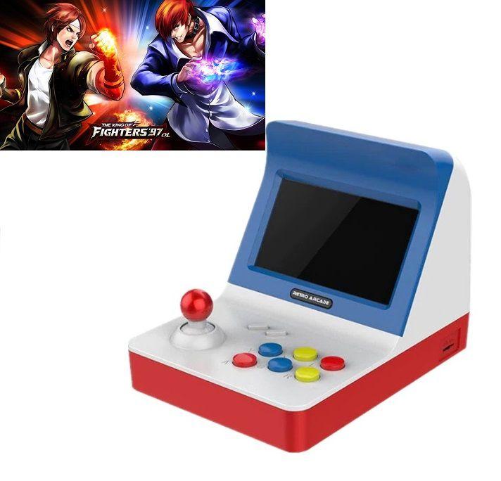 Video Game Retro Arcade Mini Fliperama Tela 4.3 Milhares De Jogos Na Memória Mortal Kombat