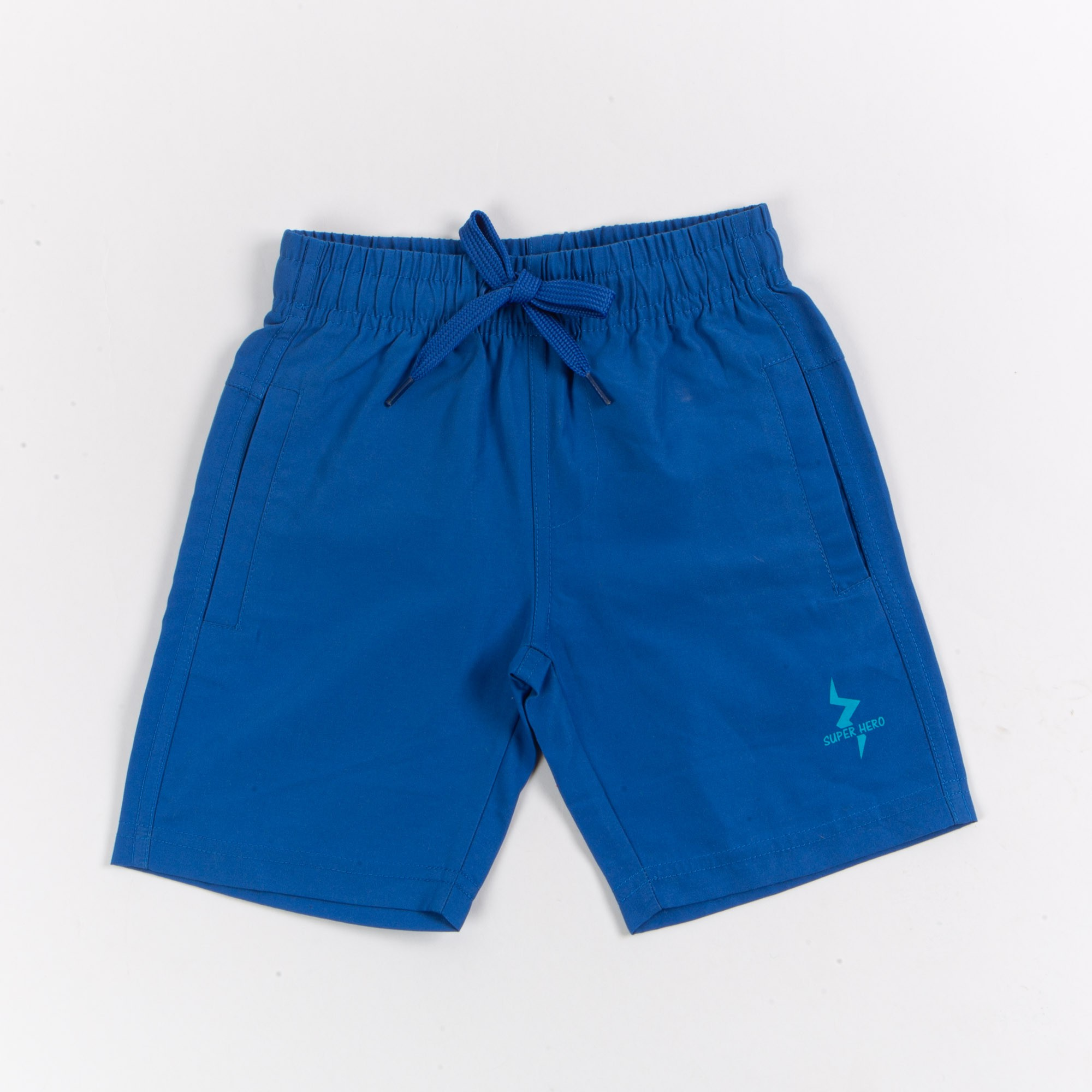 Bermuda Infantil Microfibra Praia Azul - Tip Top
