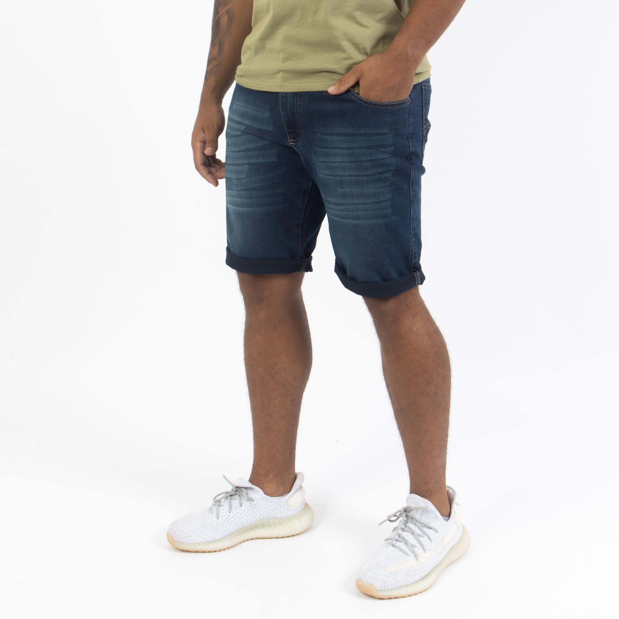 Bermuda Jeans Escuro -Oslen